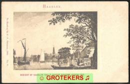 HAARLEM Gezicht Op Haarlem Van Het Zuider Spaarne Gezien In 1763 Uitgave Fröhlich 1902 - Haarlem