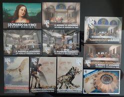 LEONARDO  DA VINCI Lot De 10 DIFFERENTES Carte Postale - Publicidad