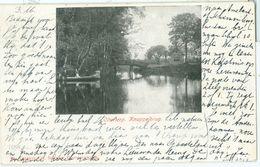 Olterterp 1905; Knuppelbrug - Gelopen. (Schroor - Beetsterzwaag) - Netherlands