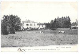 Cpa...commune De Saint-croix Près Montluel...(Ain)...Le Fouilloux...animée...1907... - Altri Comuni