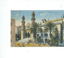 ALGER   LA CATHÉDRALE ET LE PALAIS DU GOUVERNEUR - Algiers