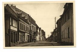BRUMATH - Rue Général Rampont ( POMPE A ESSENCE - STATION SERVICE ) - Brumath