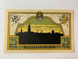 Allemagne Notgeld Zeulenroda 25 Pfennig - [ 3] 1918-1933 : République De Weimar