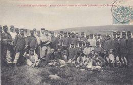 Saint-Anthème Tirs De Combat Plateau De La Fayolle En Repos - Militaria