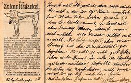 DC2333 - Dackel Dachshund Zukunftsdackel Hund STraßburg 1914 - Chiens