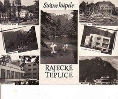 Slovakia, Rajecké Teplice - Spa 1962, Okres Žilina, Used - Slowakije
