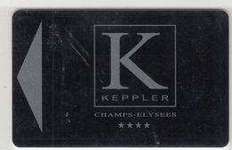 FRANCIA KEY HOTEL  Keppler Champs-Elysees   - PARIS - Hotel Keycards