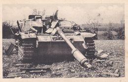 Rechival S.O. Bastogne Char Allemand  Détruit - Material