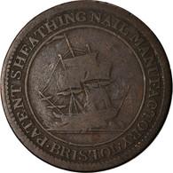 Jeton, Grande-Bretagne, Gloucestershire, Halfpenny Token, 1811, TB, Cuivre - Grand Bretaña