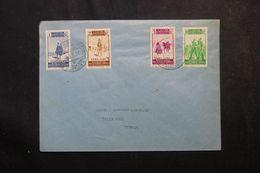 MAROC ESPAGNOL - CABO JUBY - Affranchissement Plaisant Sur Enveloppe De Tetuan En 1937 En Port Local - L 62722 - Cabo Juby