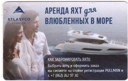 RUSSIA KEY HOTEL  Pullman Sochi Centre - ATLASYCO Charter - Hotel Keycards
