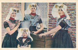 Typical Dress, Zuid Beveland, Dutch Island, 4 Beauties - Unclassified