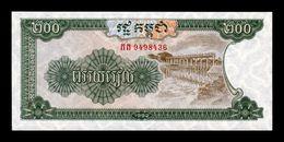 Camboya Cambodia 200 Riels 1992 Pick 37 SC UNC - Cambodia