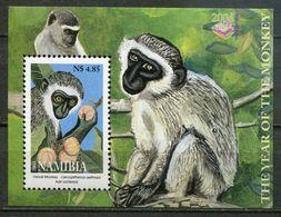Namibia Mi# Block 59 Postfrisch/MNH - Fauna Monkeys - Namibia (1990- ...)
