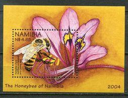 Namibia Mi# Block 60 Postfrisch/MNH - Fauna Bees - Namibia (1990- ...)