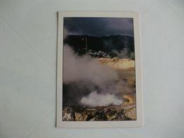 Postcard Postal Portugal Açores Ilha De S. Miguel Furnas Fumarolas E Lamas Ferventes - Açores