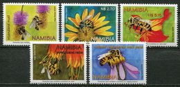 Namibia Mi# 1120-4 Postfrisch/MNH - Fauna Bees - Namibia (1990- ...)
