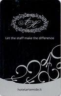 ITALIA KEY HOTEL  Hotel Artemide Roma - Hotel Keycards