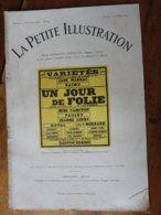 1923 UN JOUR DE FOLIE  Au Théâtre Des VARIÉTÉS   (pièce En 3 Actes  ) - Auteurs Français