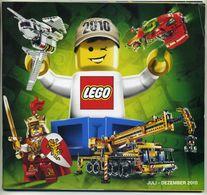 Catalogue Lego Allemand - De Juillet à Décembre 2010 - Juli Dezember 2010 - Deutsch German Tysk - Catalogs