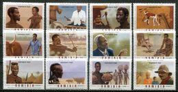 Namibia Mi# 1192-1203 Postfrisch/MNH - Role Of Men - Namibia (1990- ...)