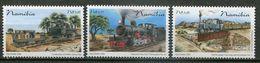 Namibia Mi# 1209-11 Postfrisch/MNH - Railway Trains - Namibia (1990- ...)
