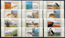 Namibia Mi# 1213-24 A Y Postfrisch/MNH - Flora + Fauna - Namibia (1990- ...)