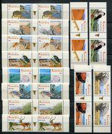 Namibia Mi# 1213-24 Gutter Pairs Postfrisch/MNH - Flora + Fauna - Namibia (1990- ...)