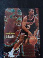 NBA - FLEER 95-96 - HEAT - KHALID REEVES - Singles (Simples)
