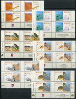 Namibia Mi# 1213-24 Ay Control Blocks Postfrisch/MNH - Flora + Fauna - Namibia (1990- ...)