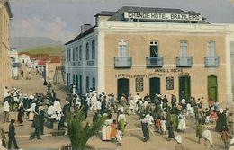 SÃO VICENTE - COSTUMES -HOTEIS E RESTAURANTES - Grande Hotel Brazileiro. Carte Postale - Cape Verde