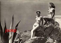 PHOTO : Ile Du Levant, Femmes Seins Nus,  Reproduction; 2 Scans - Erotiques (…-1960)