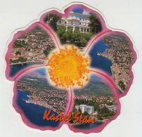 R1537 CROATIA KASTEL STARI 2001 - MISSENT TO THE NETHERLANDS - Kroatien