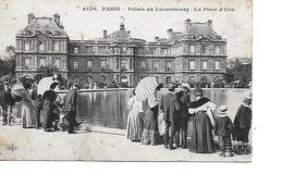 75 PARIS Cpa Palais Du Luxembourg La Pièce D'Eau 4376 ELD - Distretto: 06