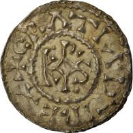 Monnaie, France, Charles Le Chauve, Denier, 864-865, Curtisasonien, SUP, Argent - 751-987 Monnaies Carolingiennes