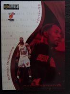 NBA - FLEER 95-96 - HEAT - ALONZO MOURNING - Singles (Simples)