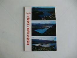 Postcard Postal Portugal Açores Ilha De S. Miguel Aspectos Da Lagoa Das Sete Cidades - Açores