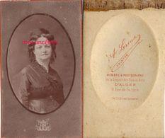 CDV  ALGER-Anne Louise RUFFIER ép De Théodore JOUYNE Magistrat, Président Du Tribunal Civil De Constantine -par Leroux - Anciennes (Av. 1900)