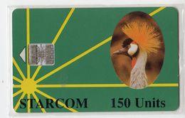 OUGANDA TELECARTE STARCOM REF MV CARDS UGA-S-12 150U Rev G - Uganda