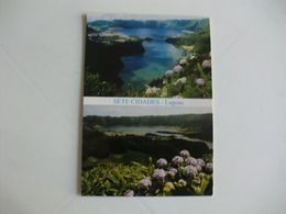 Postcard Postal Portugal Açores Ilha De S. Miguel Lagoas Das Sete Cidades - Açores