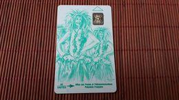 Phonecard Polynésie Control Number 36207 Used  Rare - Polynésie Française
