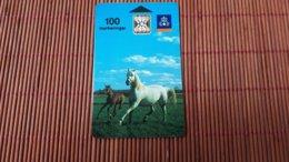 Phonecard Zweden Horse Used  Rare - Sweden