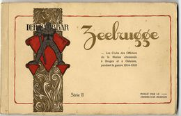 Club Des Officiers, Marine Allemande A Brugge Et Ostende. Vier Talen ! Uitgeven Door Het Museum Zeebrugge. Oorlog-War - Français