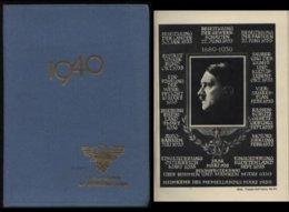 WW II RDB Taschenbuch Beamten Kalender Adolf Hitler 1940 : 355 Seiten, Bedarfserhaltung. - Germany