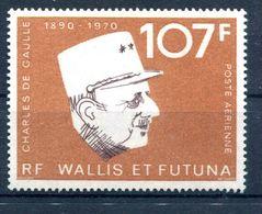 Thème Général De Gaulle - Wallis Et Futuna Yvert PA 48 Neuf XXX - Cote 19,50 - T 932 - De Gaulle (Generale)