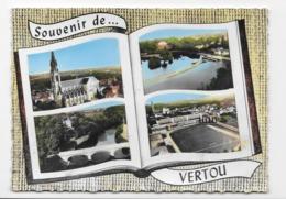 44    SOUVENIR DE ...VERTOU    VUES    AERIENNES     MULTI-VUES - Francia