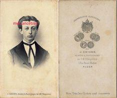 CDV  ALGER-Henri JOUYNE Batonnier Fils DeThéodore Magistrat, Président Du Tribunal Civil De Constantine -par Geiser - Anciennes (Av. 1900)