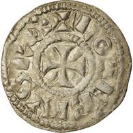 Monnaie, France, Lothaire, Denier, 960-980, Bourges, TTB+, Argent, Prou:755 - 751-987 Monnaies Carolingiennes