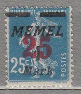 MEMEL KLAIPĖDA 1923 Mint (*) Mi 122 #21811 - Klaipeda