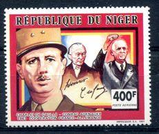 Thème Général De Gaulle - Niger Yvert PA 376 Neuf Xxx - Cote 6,50 - T 934 - De Gaulle (Général)